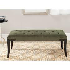 Safavieh Furniture Outlet Store Safavieh Slade Grey Bench Fox2026b The Home Depot