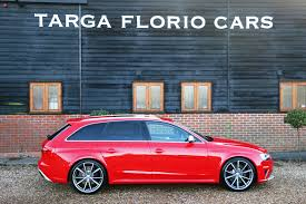 supercharged audi rs4 for sale audi rs4 avant 4 2 tfsi quattro for sale at targa florio cars in