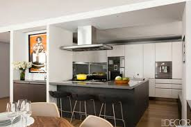 Elle Decor Celebrity Homes Inside Chef Daniel Boulud U0027s Stunning Kitchen Featured In The May