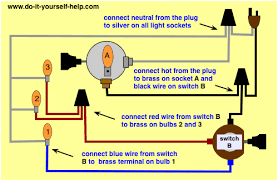 multi bulb table l l switch wiring diagrams do it yourself help com