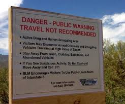 Arizona travel warnings images Blm southern arizona is dangerous because mexican cartels control jpg