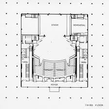 floor plan theater calisphere ahmanson theatre 3rd floor plan