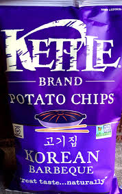review kettle brand u2013 korean barbeque potato chips chip review