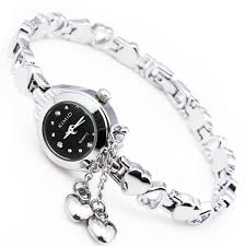 ladies watches bracelet style images Gorgeous women quartz wrist watch fashion alloy stainless steel jpg