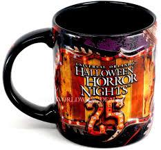 halloween coffee mug new universal orlando halloween horror nights hhn 25 jack clown