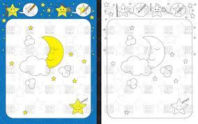 preschool worksheet for practicing fine motor skills tracing