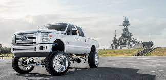Ford F250 Truck Wheels - ford f 250 with specialty forged wheels