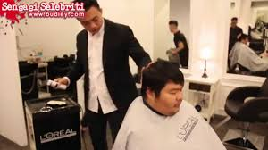 hairstyle for fat chinese face makeover haircut for chubby man with round face shapes youtube