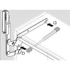 verin pour meuble cuisine compas à gaz porte relevante livenza la quincaillerie du meuble