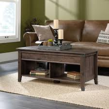 ager keller lift top coffee table dark sonoma finish mdf material
