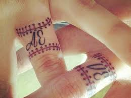 Baseball Wedding Ring by 55 Wedding Ring Tattoo Designs U0026 Meanings True Commitment 2017