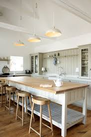 shaker kitchen island butcher block island kitchen farmhouse with shaker kitchen
