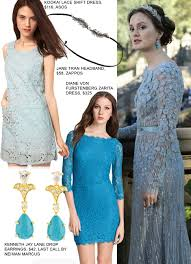 blair wedding dress copy blair waldorf s blue wedding dress fashion