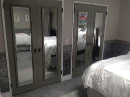 Mirror Sliding Closet Doors For Bedrooms Bathroom Bedrooms Grey Sliding Wardrobe Doors Closet Mirror