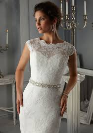 wedding dress lace morilee bridal allover alencon lace wedding dress with beaded