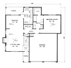 houseplans and more dransfeld modern home plan 069d 0078 house plans and more