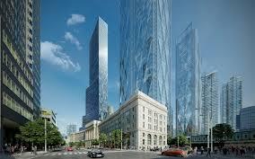 architectural rendering of skyscraper project in toronto u2022 lunas