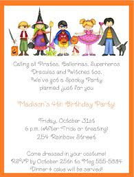 6 marvellous halloween party invitation wording for kids