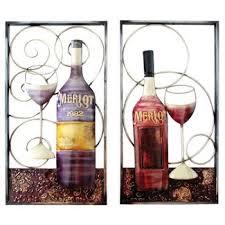 Wine Glass Wall Decor Wine Cork Wall Decor Target