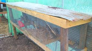 Rabbit Hutch From Pallets Easy Quail Hutch You Can Build In One Weekend Countryside Network