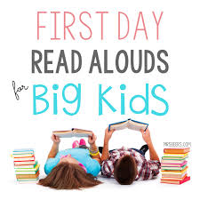 Worksheets For 6th Grade Reading First Day Read Alouds For The Middle Grades