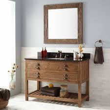 Bathroom Vanity Custom Made by Bathroom Reclaimed Wood Bathroom Vanity For Access And Storage