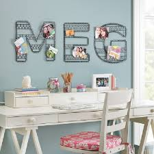 Cute White Desk Office Teen Work Apace With Small White Desk And Blue