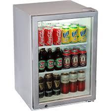 under bench bar fridge glass doorskope hb80 under bench glass door