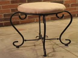 Bathroom Vanity Stool With Casters Small Swivel Vanity Stool Swivel Vanity Stool For Bathroom
