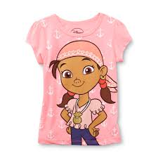 disney jake u0026 land pirates u0027s graphic shirt izzy