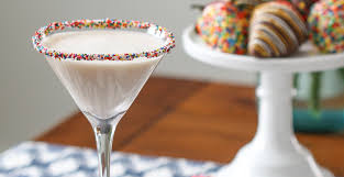how to make a birthday cake martini easy cocktail recipes