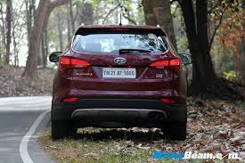 hyundai suv price in india 2014 hyundai santa fe test drive review