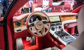 bentley volkswagen bentley continental gt erste sitzprobe im luxus gt iaa 2017