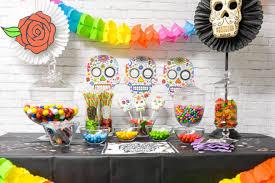 dia de los muertos decorations dia de los muertos candy bar hey let s make stuff