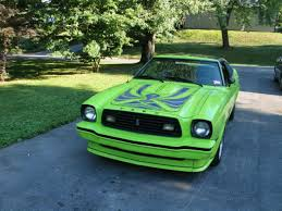 Green And Black Mustang For Sale 1978 Mustang King Cobra Ford Mustang Forums Corral