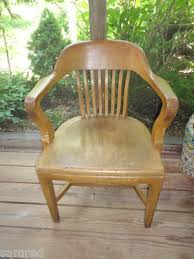 Bankers Chair Cushion Vintage B L Marble Chair Oak Banker U0027s Chair Original With Tags