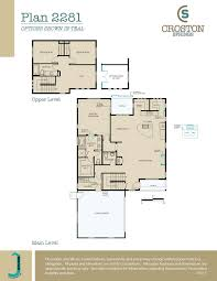 Springs Floor Plans by Croston Springs At Kiley Ranch By Jenuane Communities Henderson