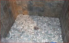 pebble tile shower floor home robinson house decor