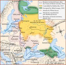 Ussr Map 1918 1921 Russian Civil War Map Russian Revolution Maps