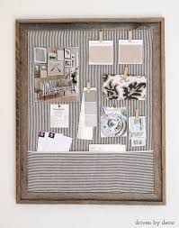 home by decor framed cork bulletin board a quick easy diy driven by decor