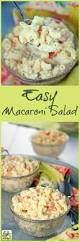 Pasta Salad Recipe Mayo by Best 25 Easy Macaroni Salad Ideas On Pinterest Classic Macaroni