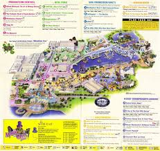 Florida Orlando Map by Universal Studios Florida Guidemaps 2000 1991 Page 3