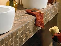 tile bathroom countertop ideas best countertops for bathroom vanities steam shower inc