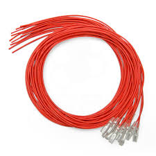 red 16pc 22 awg wire with 110 quick disconnect