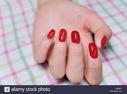woman beautiful hand painted fingernails beautiful nail polish
