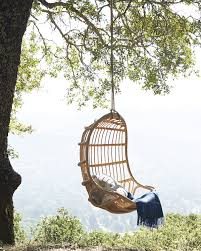 Rattan Hammock Chair Hanging Rattan Chair Chairs Serena And Lily