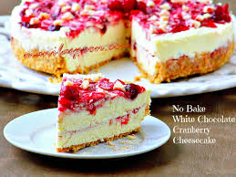 cranberry dishes for thanksgiving no bake white chocolate cranberry cheesecake manila spoon