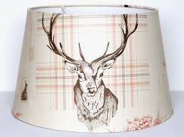 stag lampshade ceiling light shade large 13