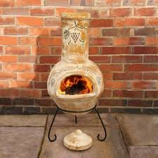 mexican fireplace chiminea fireplace ideas