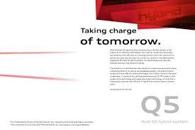 audi q5 brochure audi q5 model brochure par 0002 file
